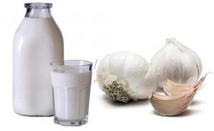 Чеснок с молоком от глистов