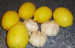 Лимон с чесноком для иммунитета